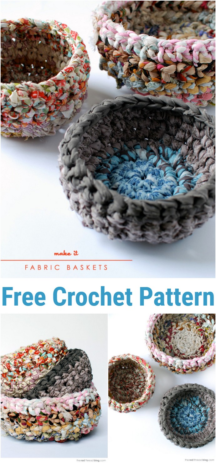 Beginner's Crochet Make A Fabric Basket