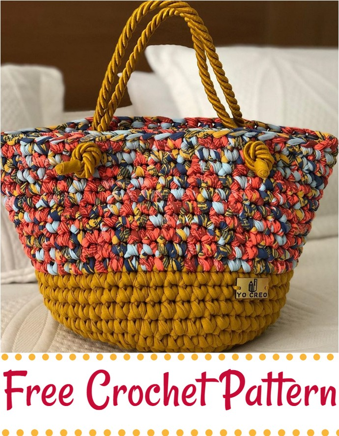 Best And Creative Crochet Bag Pattern