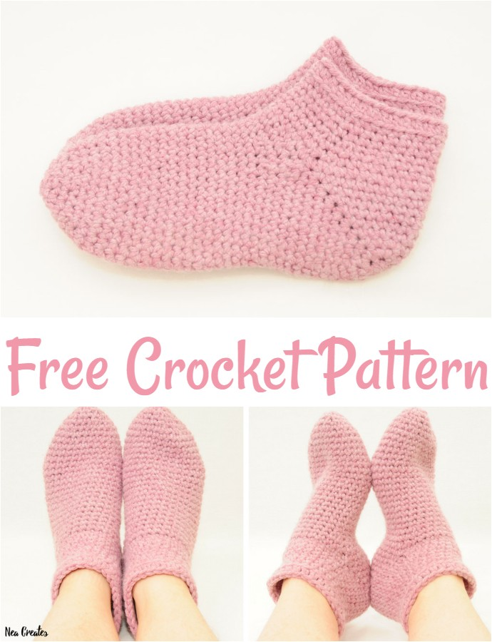 Bulky Crochet Socks Free Crochet Pattern