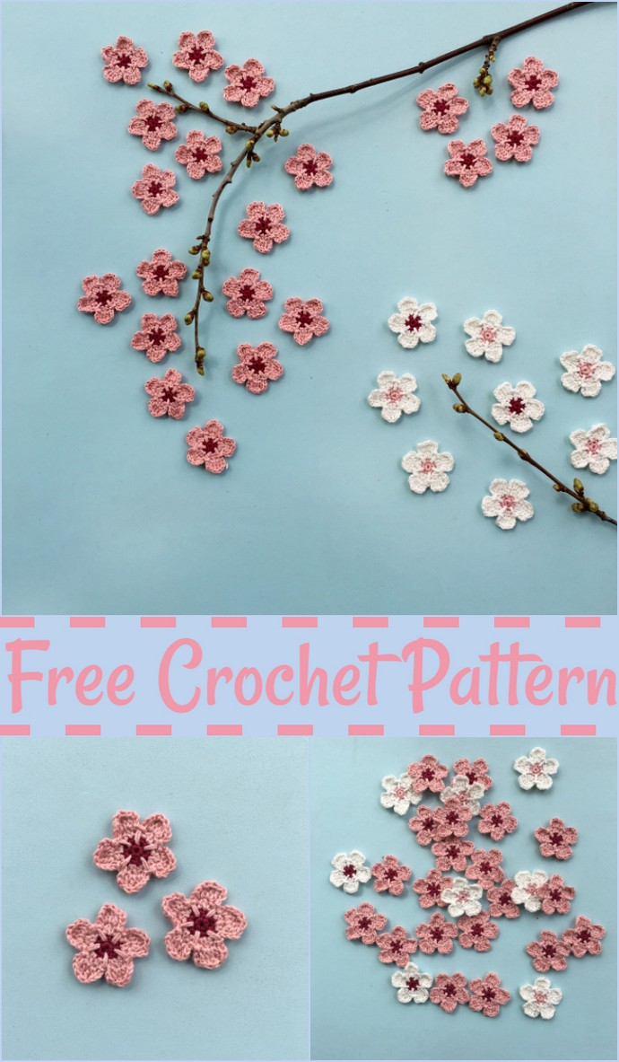 Cherry Blossom Flower Pattern