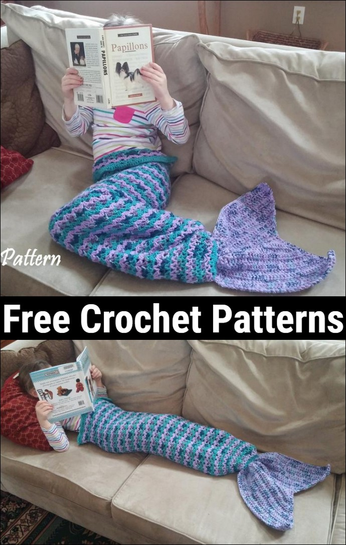 Child Size Crochet Mermaid Tail Pattern
