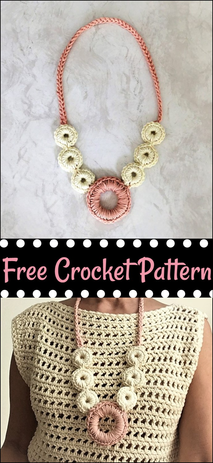 Crazy Cool Free Crochet Necklace