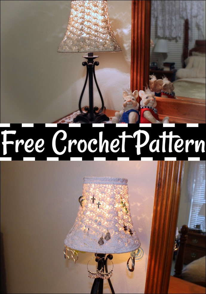 Crochet Lamp Shade And A Winner