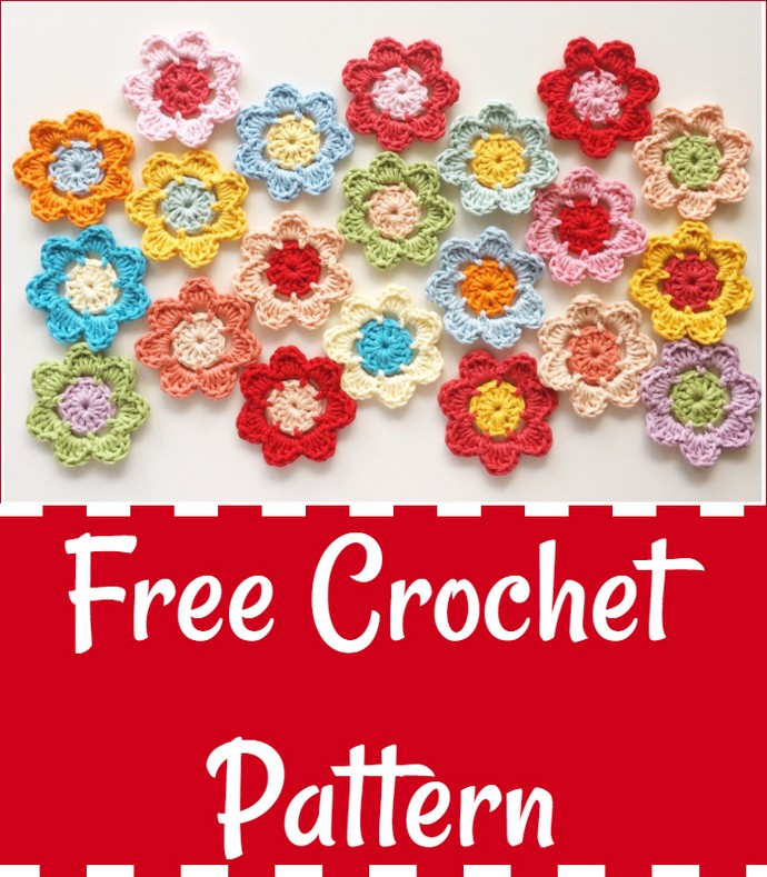 Easy Peasy Crochet Flower Pattern