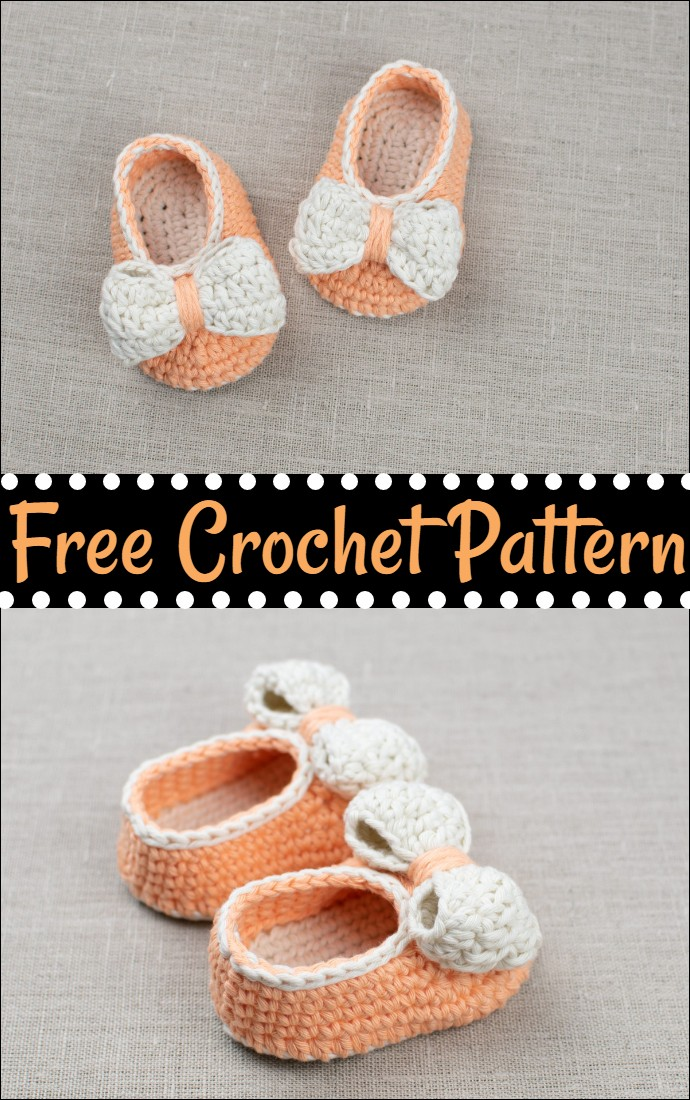 Free Crochet Baby Booties Orange Pumpkin
