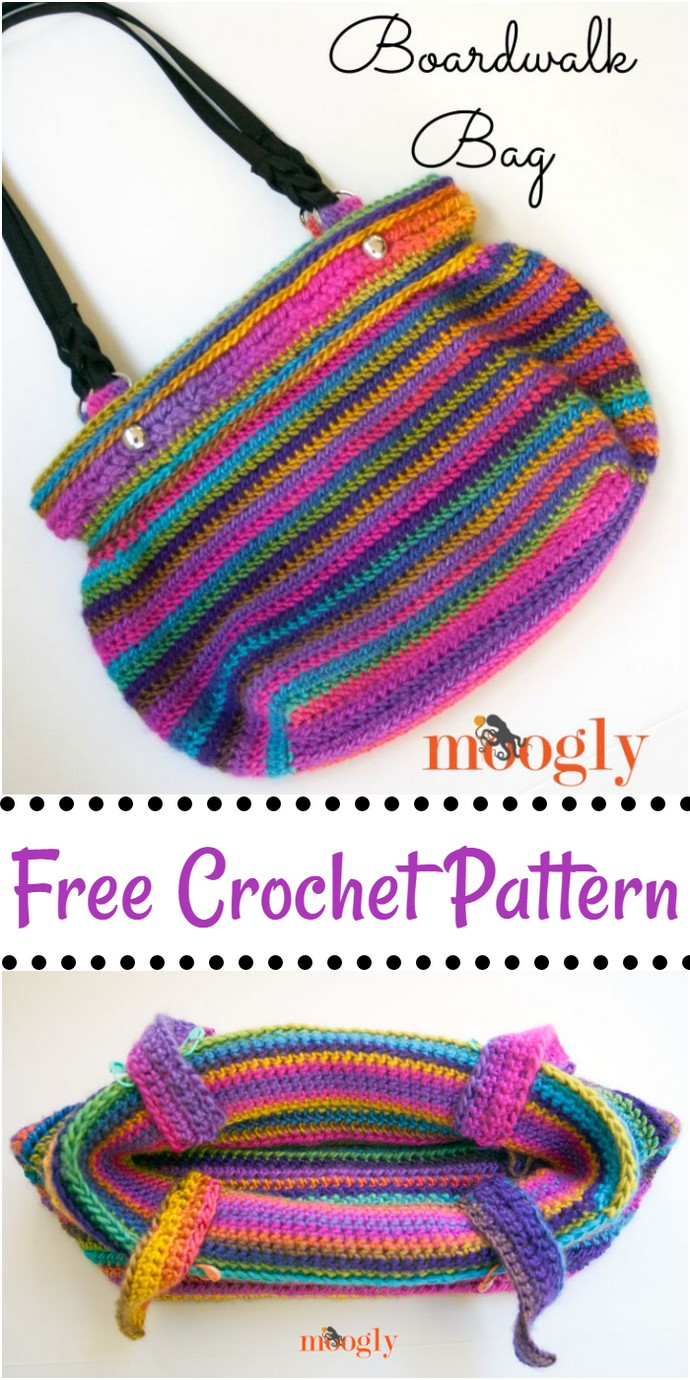 Free Crochet Boardwalk Bag