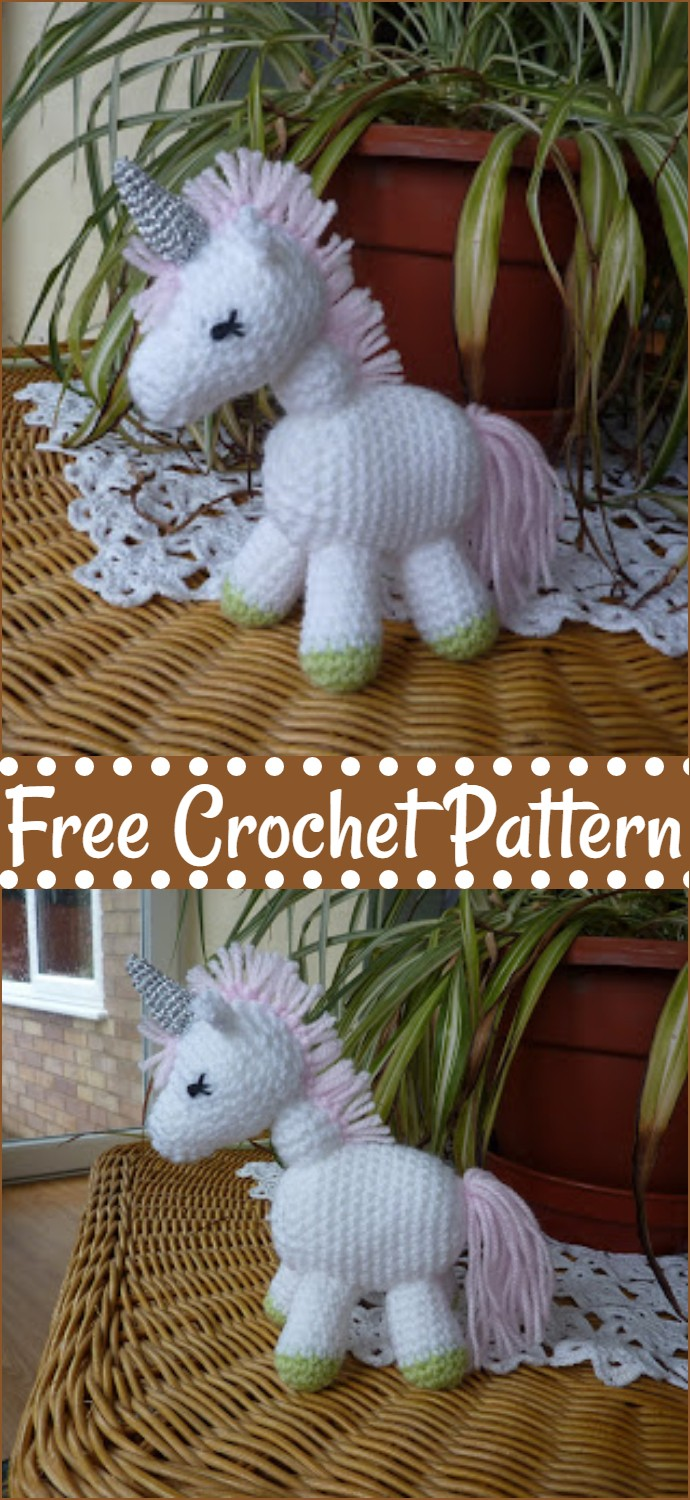 Free Crochet Charley The Unicorn