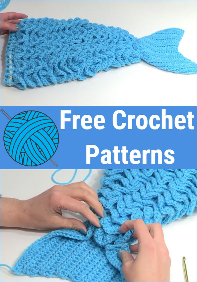 Free Crochet Mermaid Tail Outfit