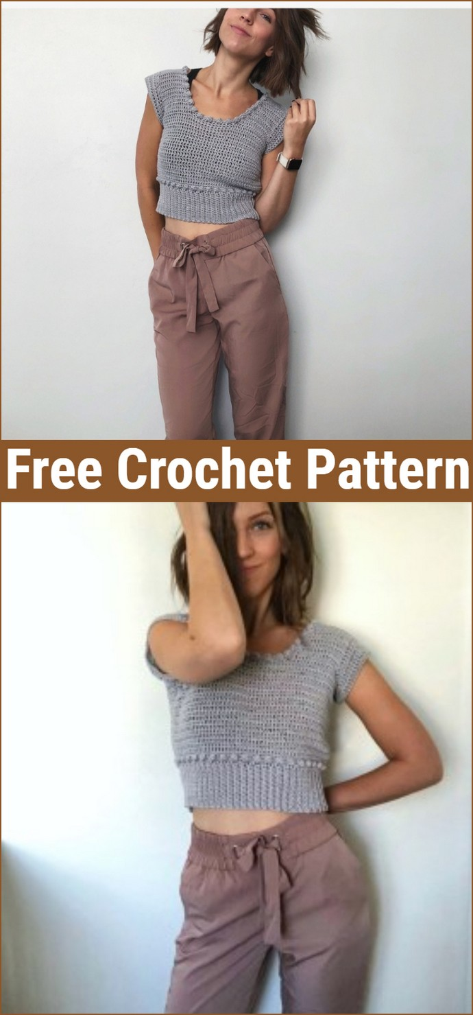 Free Crochet The Bobble Crop Top Pattern
