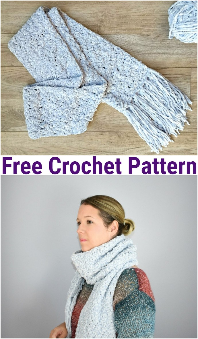 Free Crochet The Hopewell Scarf