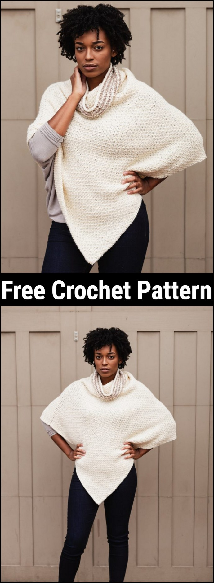 Free Crochet The Hot Cocoa Poncho