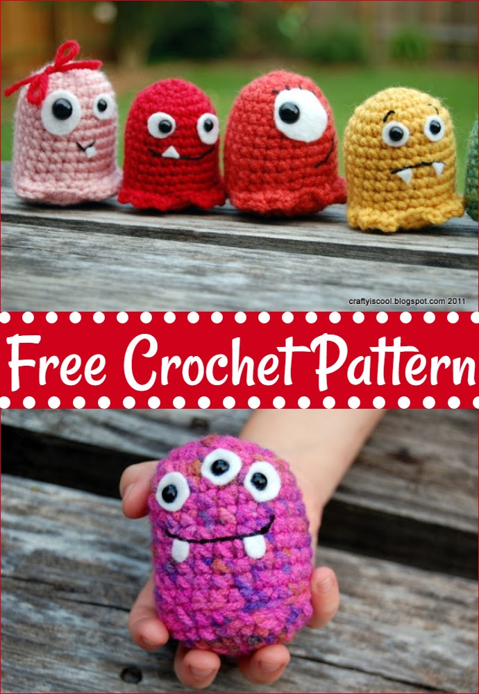 Free Crochet Wanna Make A Monster