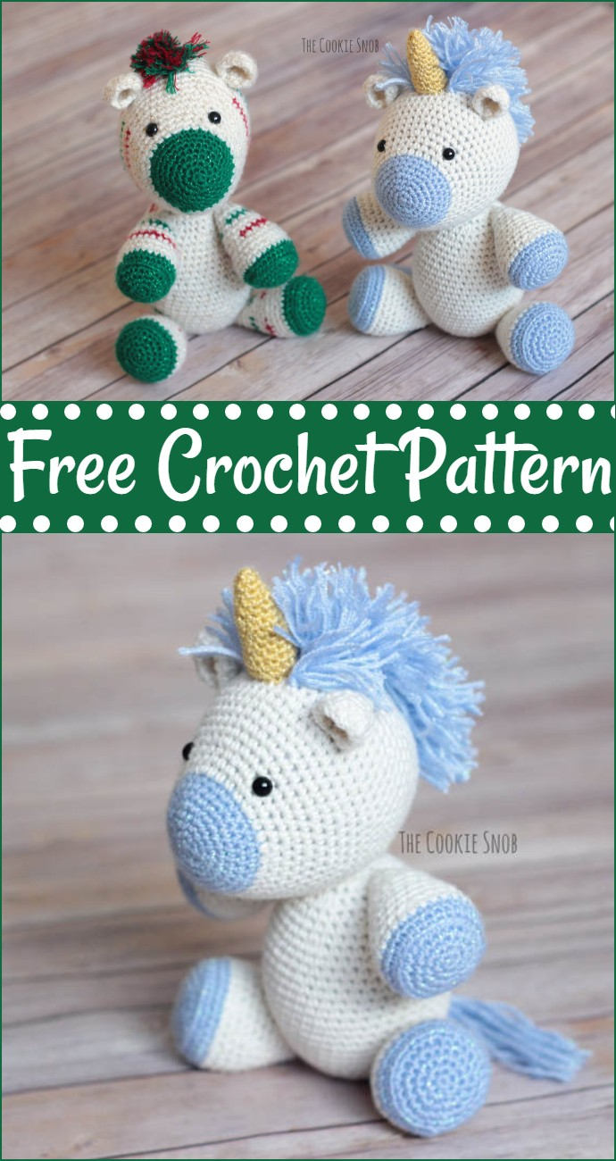 Free Crochet Yet Another Unicorn