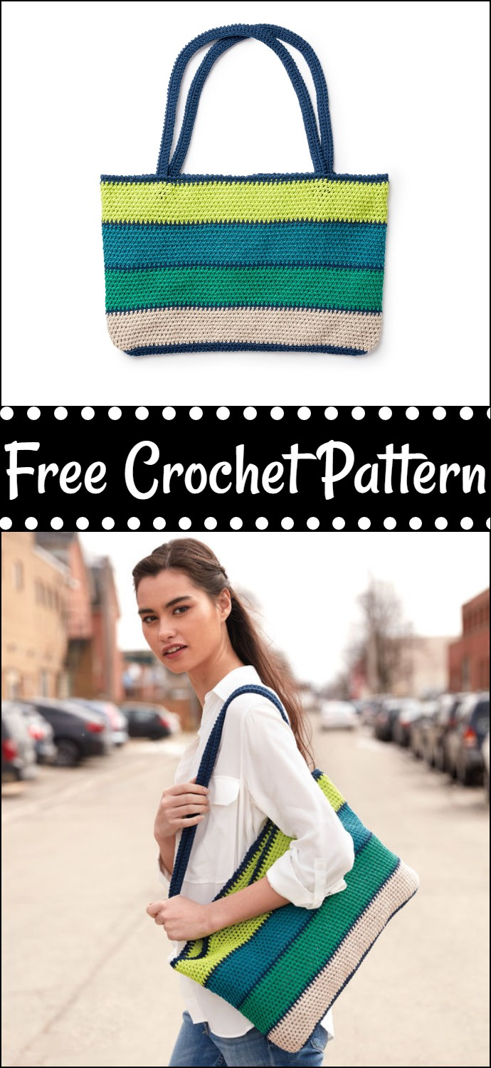 Free Easy Crochet Tote Bag Pattern