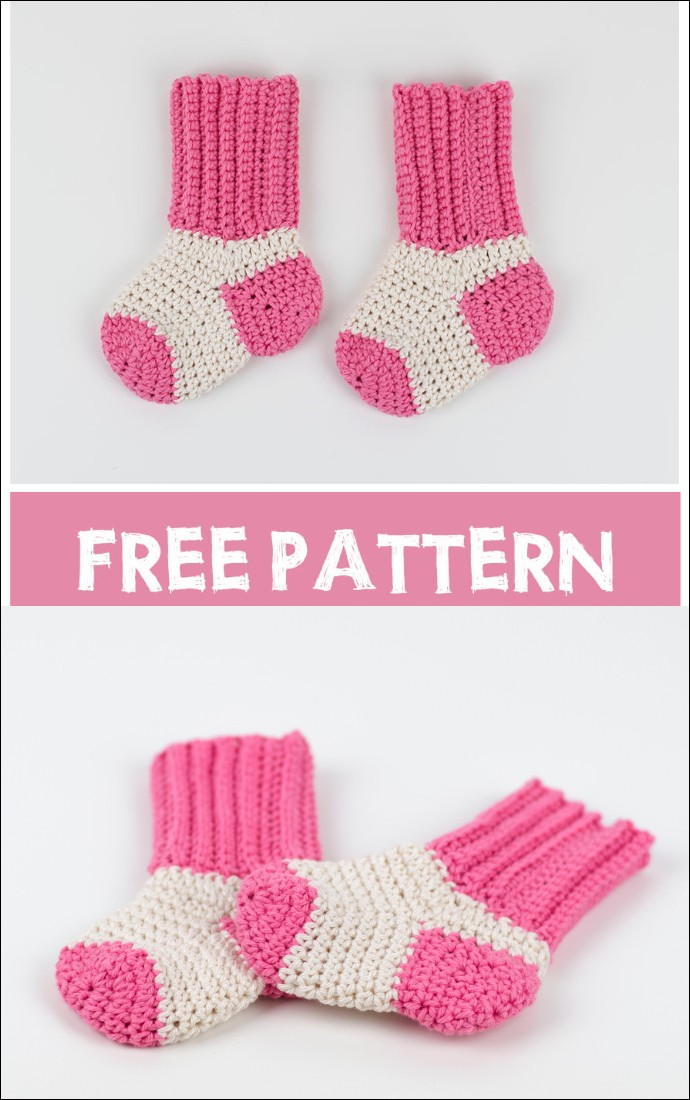 Free Pattern Tiny Socks For Tiny Feet