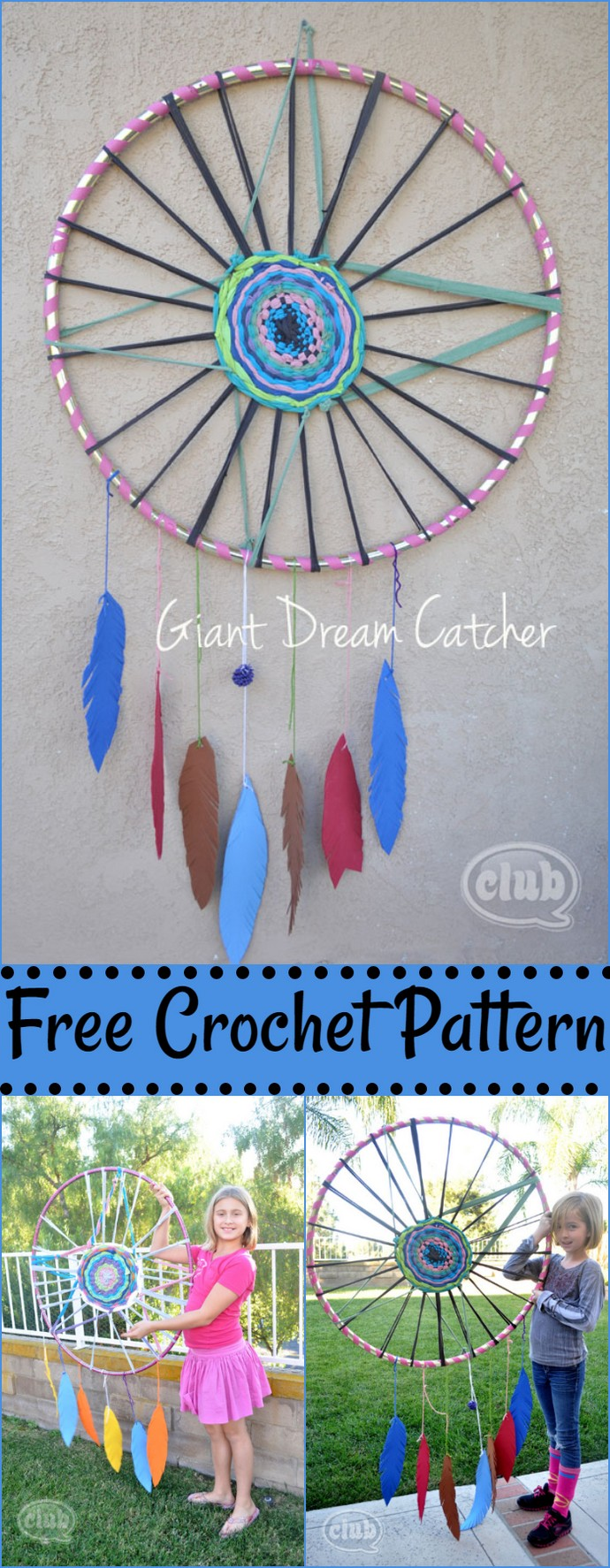 Giant Dream Catcher Craft For Tweens With Big Dreams