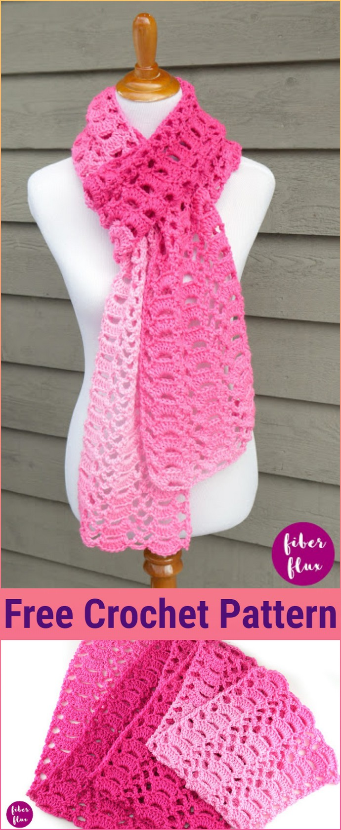 Heart You Scarf Free Crochet Pattern