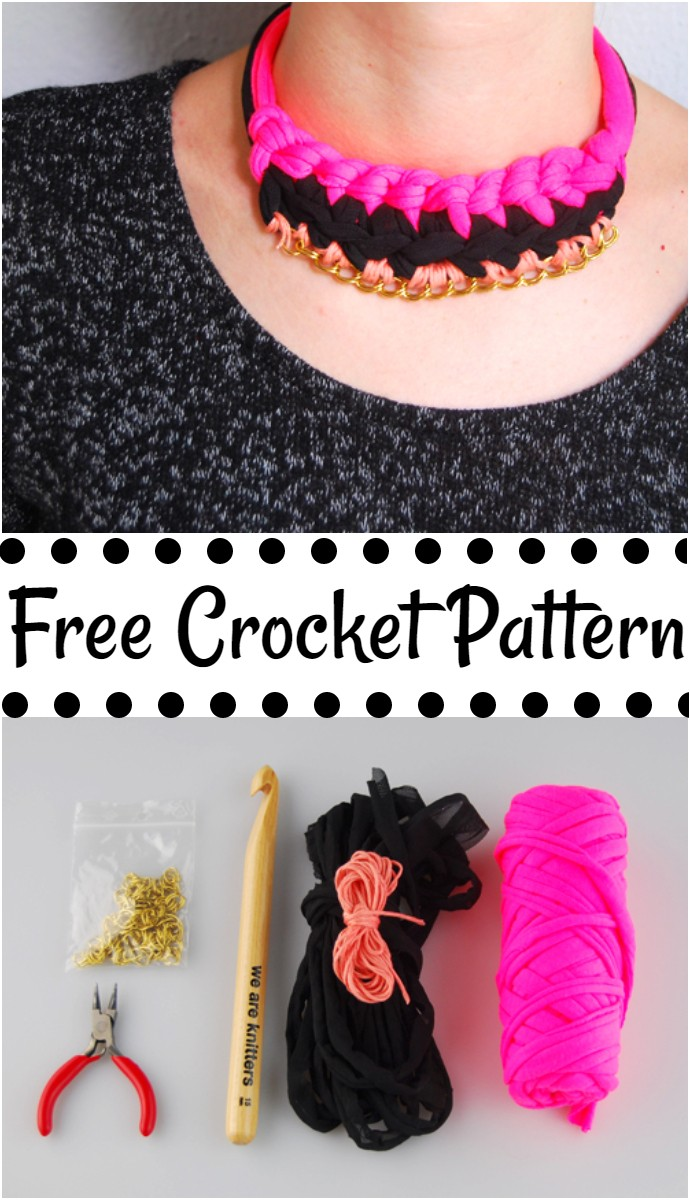 How To Make A Knitter Chain Necklace