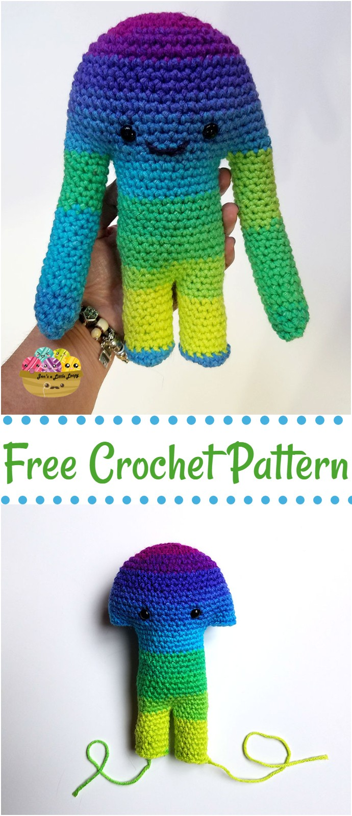 Huge monster Free Crochet Pattern