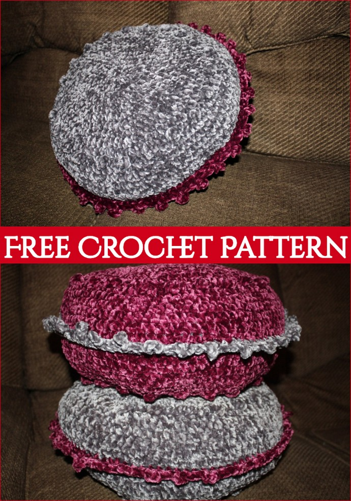 Marie Pillow Crochet Pattern