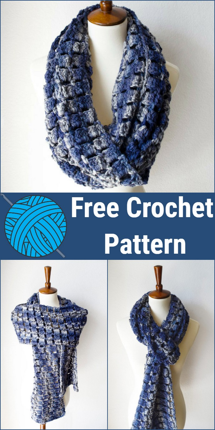 Super Scarf Free Crochet Pattern