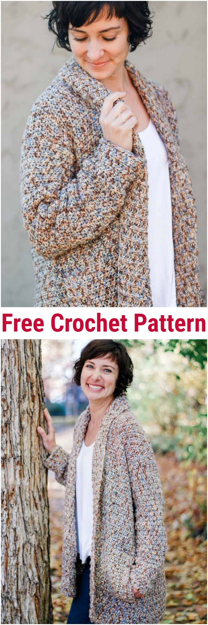 Up North Crochet Cardigan Pattern