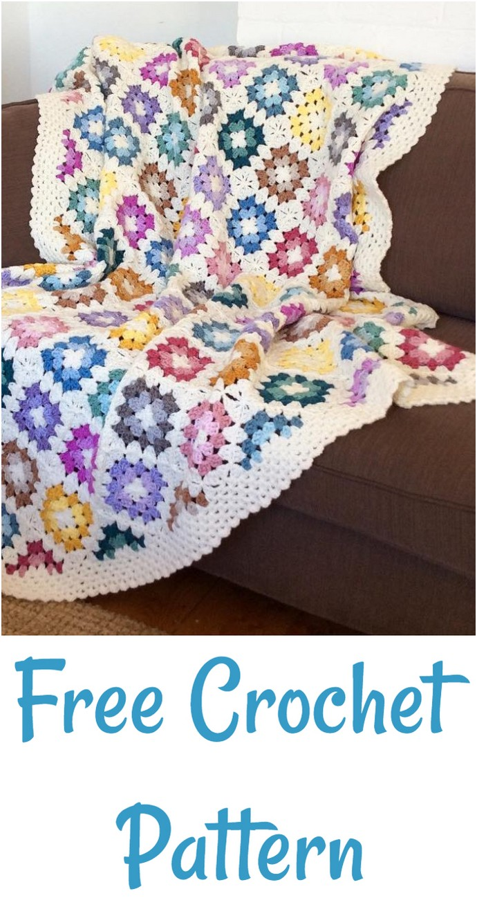 Best Free Crochet Blanket Pattern
