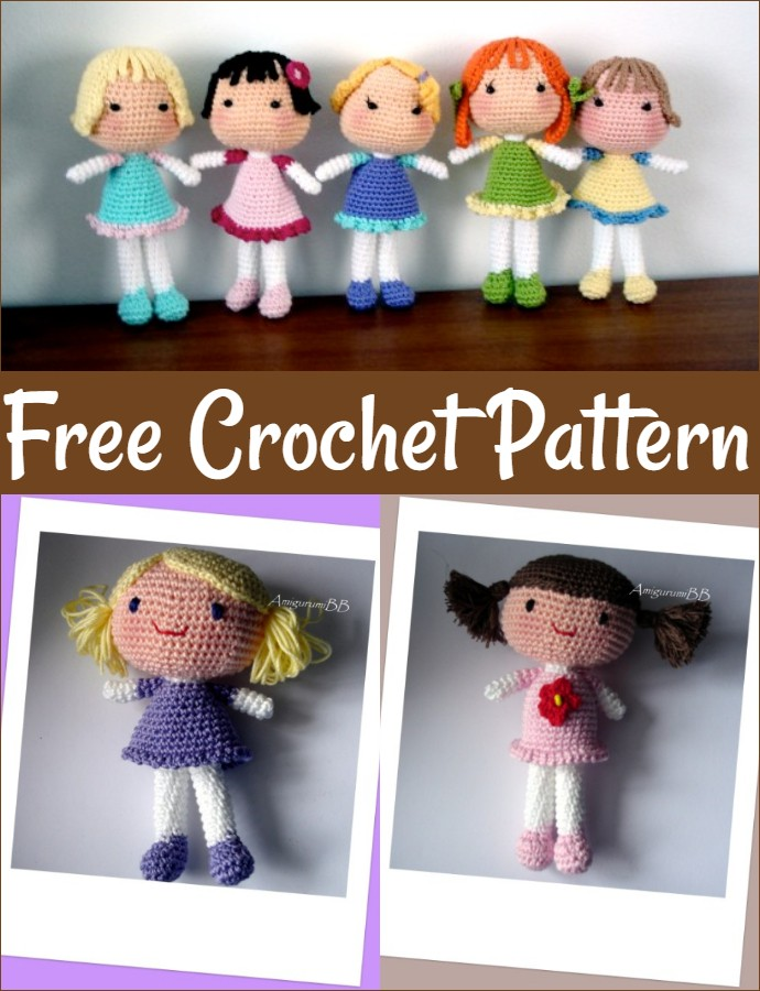 Free Crochet Bb Dolls