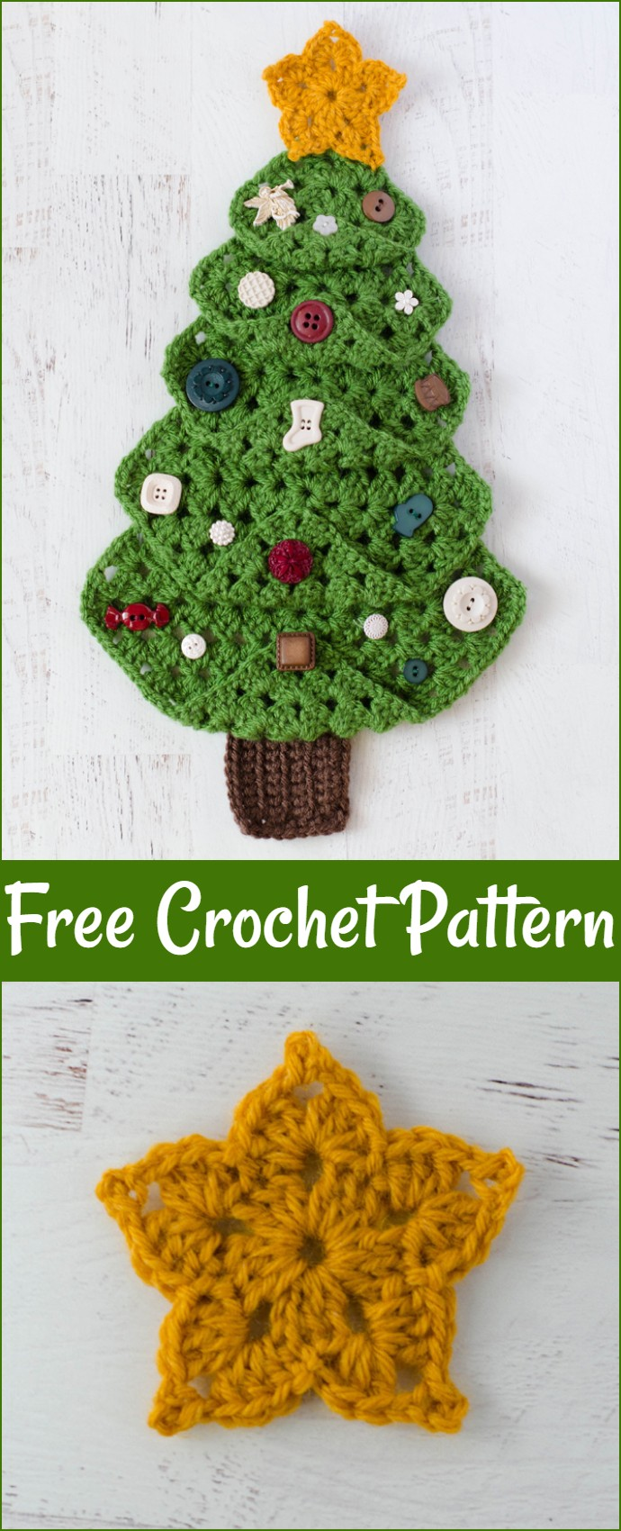 Free Crochet Granny Christmas Tree