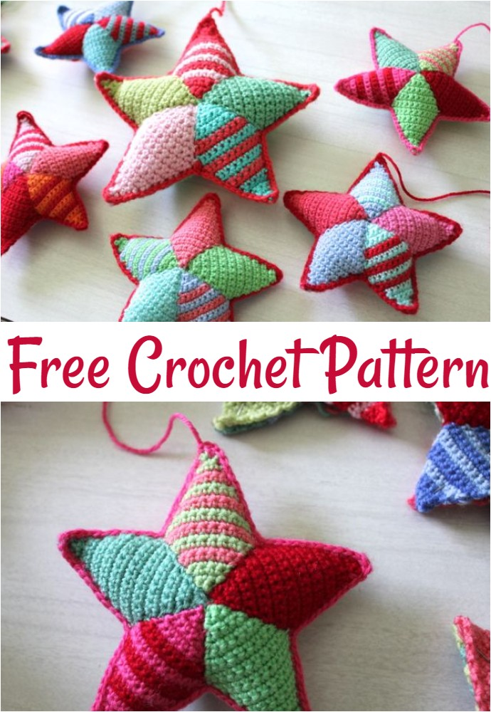 Free Crochet Star Making