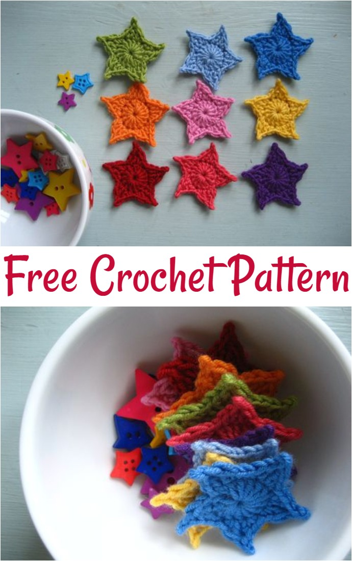 Free Crochet Teeny Tiny Stars