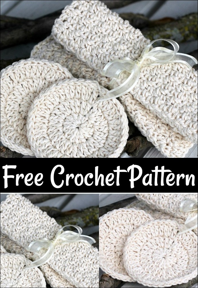 Free Crochet Wash Cloths & Scrubbies Gift