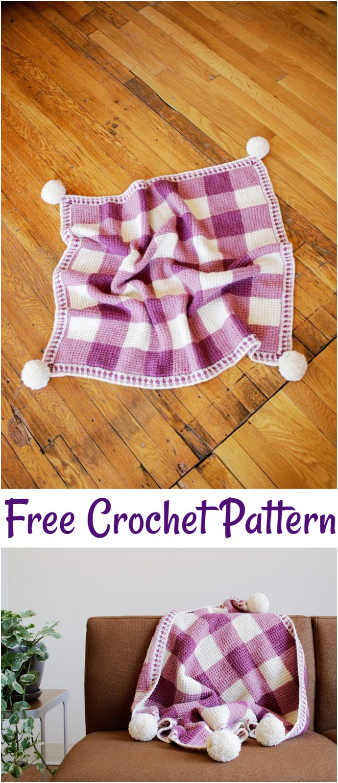 The Sweet Gingham Blanket