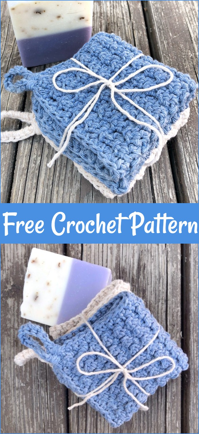 Ultra Luxe Washcloths Free Crochet Pattern